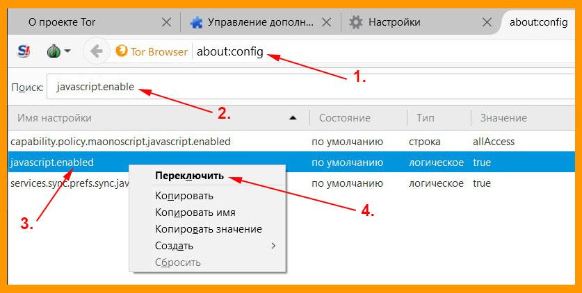 Как в тор браузере включить javascript в hudra tor browser bundle для windows 7 скачать